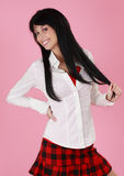 Cute young woman Royalty Free Stock Photography