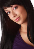 Cute young woman Royalty Free Stock Images