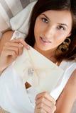 Cute young woman Stock Photos