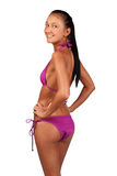 Cute young woman in bikini Royalty Free Stock Photography