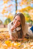 Cute young woman with a lovely warm smile Royalty Free Stock Image