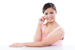 Cute Young Woman Stock Image