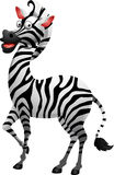 Cute zebra cartoon Royalty Free Stock Photo