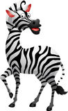 Cute zebra cartoon Royalty Free Stock Photos