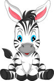 Cute zebra cartoon Royalty Free Stock Images