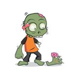 CUTE ZOMBIE 2 Royalty Free Stock Images