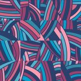 Cuted в части doodle предпосылка Стоковое Изображение