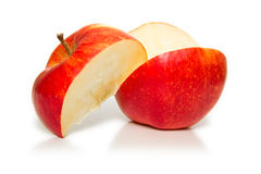 Cuted apple 2 Royalty Free Stock Image