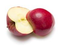 Cuted apple Stock Photos