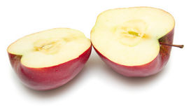 Cuted apple Royalty Free Stock Image