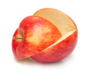 Cuted apple Royalty Free Stock Images
