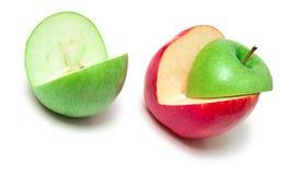 Cuted apples Stock Photos