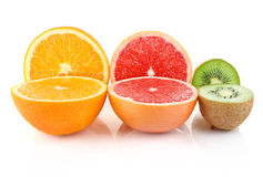 Cuted fruit Stock Image