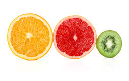 Cuted fruit Royalty Free Stock Images