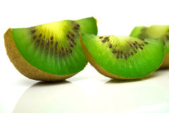 Cuted kiwi Arkivbilder