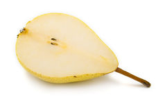 Cuted ripe pear Stock Photography