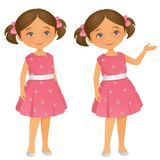 Cutel Little Girl royalty free stock image