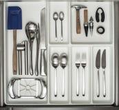 Cuterly e cookware Foto de Stock