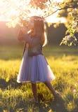 Cutest fairy girl stock photography