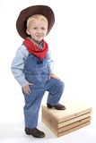 Cutest little cowboy Stock Photo