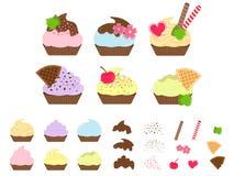 Cutie Capcake иллюстрация вектора