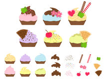 Cutie Capcake Stock Images