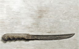 Cutlass. Short sword - illustration based on own photo image Royalty Free Stock Images
