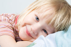Cutle little girl Royalty Free Stock Image