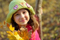 Cutle little girl portrait Royalty Free Stock Photography
