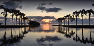Cutler Bay Sunrise. Early March morning and sunrise at Cutler Bay near Miami, Florida Stock Photography