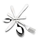 cutlery круга Стоковое фото RF