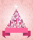 Cutlery рождественской елки Стоковое Изображение RF