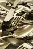 cutlery старый стоковое изображение rf