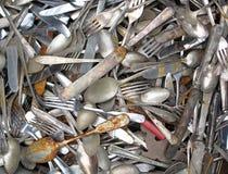 cutlery старый стоковые изображения