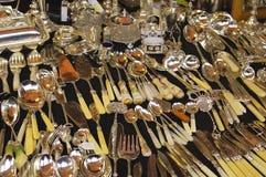 cutlery старый Стоковое Фото