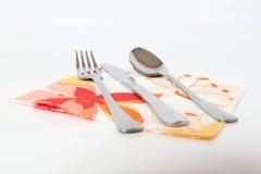 cutlery obrazy royalty free