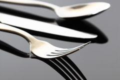 Cutlery A Royalty Free Stock Photography