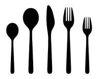 cutlery ilustração do vetor
