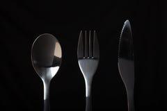 cutlery Fotografia Stock Libera da Diritti