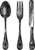 cutlery Imagem de Stock