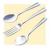 cutlery lizenzfreie abbildung