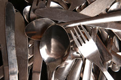 Cutlery abstract Stock Image