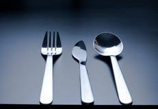 Cutlery as fine art with beautiful light Stock Photos