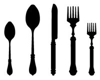 Cutlery 2 Royalty Free Stock Images