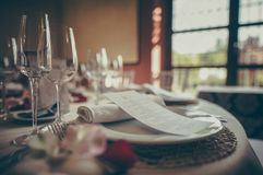 Cutlery, Details, Flatware, Fork, royalty free stock images