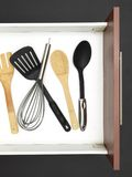 Cutlery Draw Stock Photography