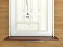 Cutlery Draw Royalty Free Stock Photography