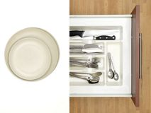 Cutlery Draw Royalty Free Stock Photo