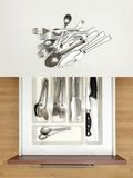 Cutlery Draw Royalty Free Stock Images