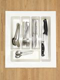 Cutlery Draw Divider Royalty Free Stock Images